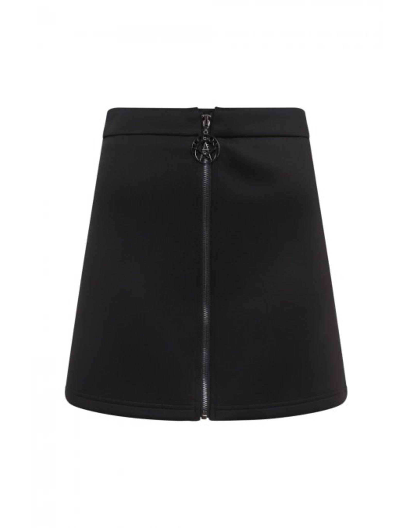 BANNED - Minimal Goth Bodycon Skirt