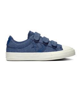 CONVERSE STAR PLAYER 3V OX NAVY/EGRET/BROWN CZWON-664434C