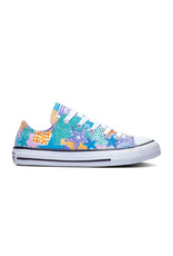 CONVERSE CHUCK TAYLOR ALL STAR OX WHITE/WILD LILAC/BLACK CZMOW-664460C