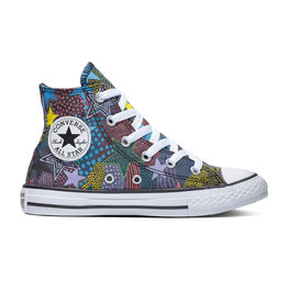 CONVERSE CTAS HI BLACK/GNARLY BLUE/WHITE CZMOB - 664459C