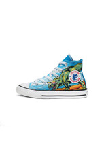 CONVERSE CHUCK TAYLOR ALL STAR HI TOTALLY BLUE/BLACK/WHITE CZDBH-664246C