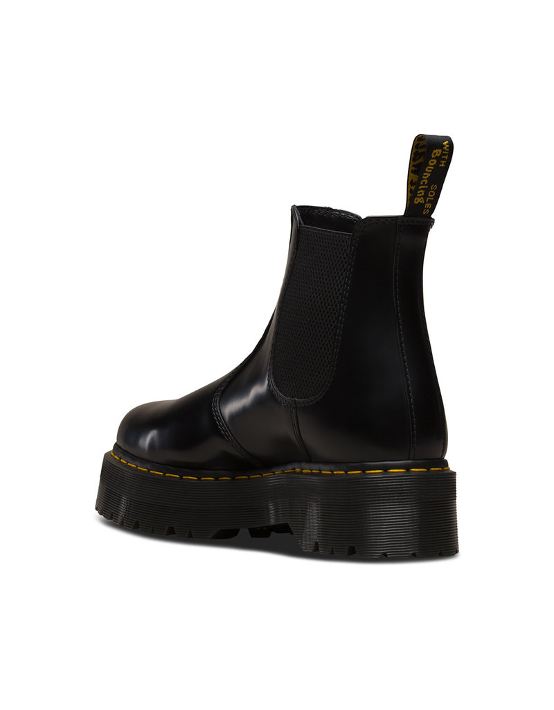 DR. MARTENS 2976 QUAD BLACK POLISHED SMOOTH E4BX-R24687001