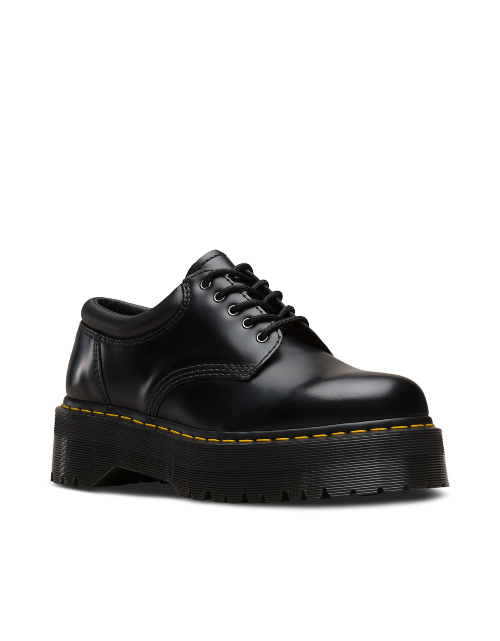 DR. MARTENS 8053 QUAD BLACK POLISHED SMOOTH 509BX-R24690001
