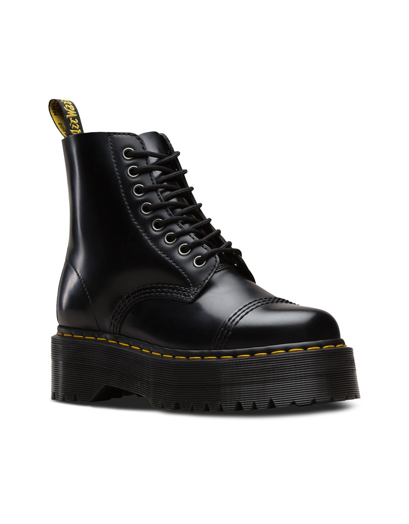 DR. MARTENS SINCLAIR BLACK POLISHED SMOOTH 851B-R24862001