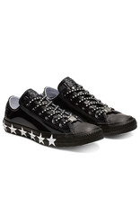 CONVERSE CHUCK TAYLOR AS OX MILEY CYRUS BLACK/WHITE/BLACK CC13MCB-563720C