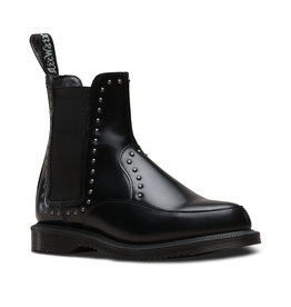 DR. MARTENS AIMELYA STUD BLACK POLISHED SMOOTH E20STB-R24576001