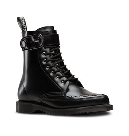 DR. MARTENS GEORDIN BLACK POLISHED SMOOTH 868B-R24554001