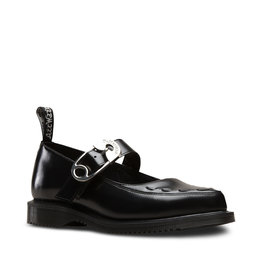 DR. MARTENS CAMMEY BLACK POLISHED SMOOTH M68B-R24546001