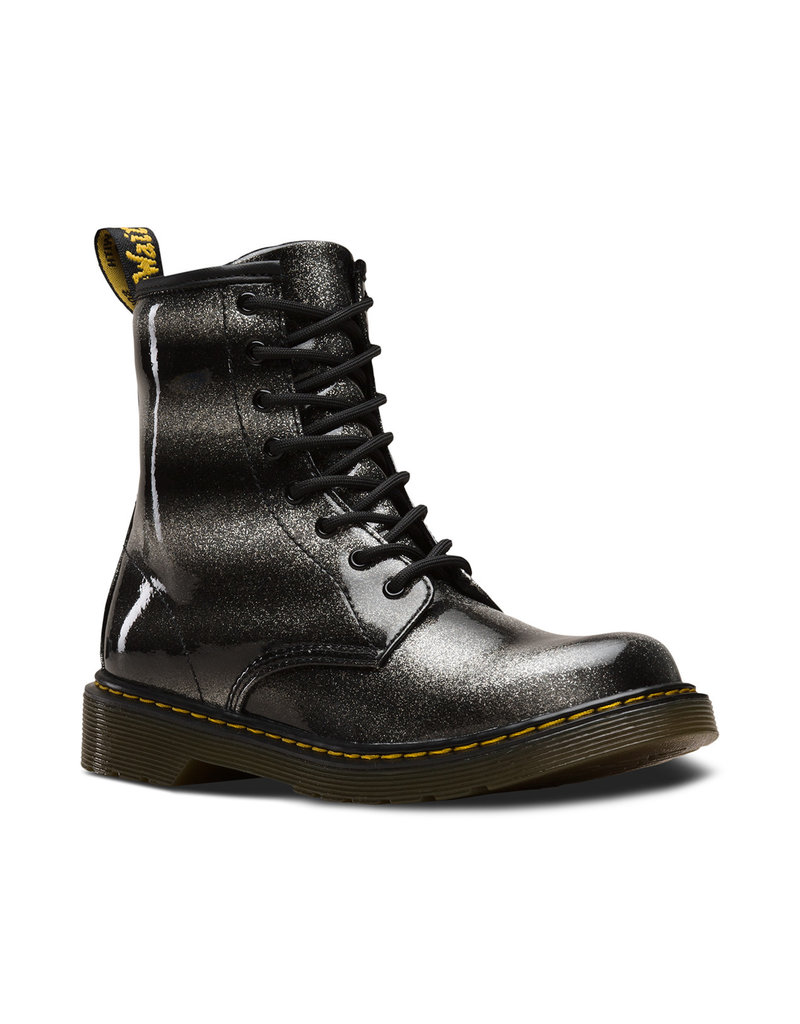 DR. MARTENS 1460 OMBRE GLITTER YOUTH BLACK/SILVER GLITTER PATENT Y815YS-R24843012
