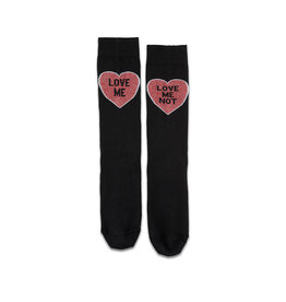 DR. MARTENS - Love Me Socks Black