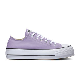 CONVERSE CHUCK TAYLOR ALL STAR LIFT OX WASHED LILAC/BLACK/WHITE C13LLI-564384C
