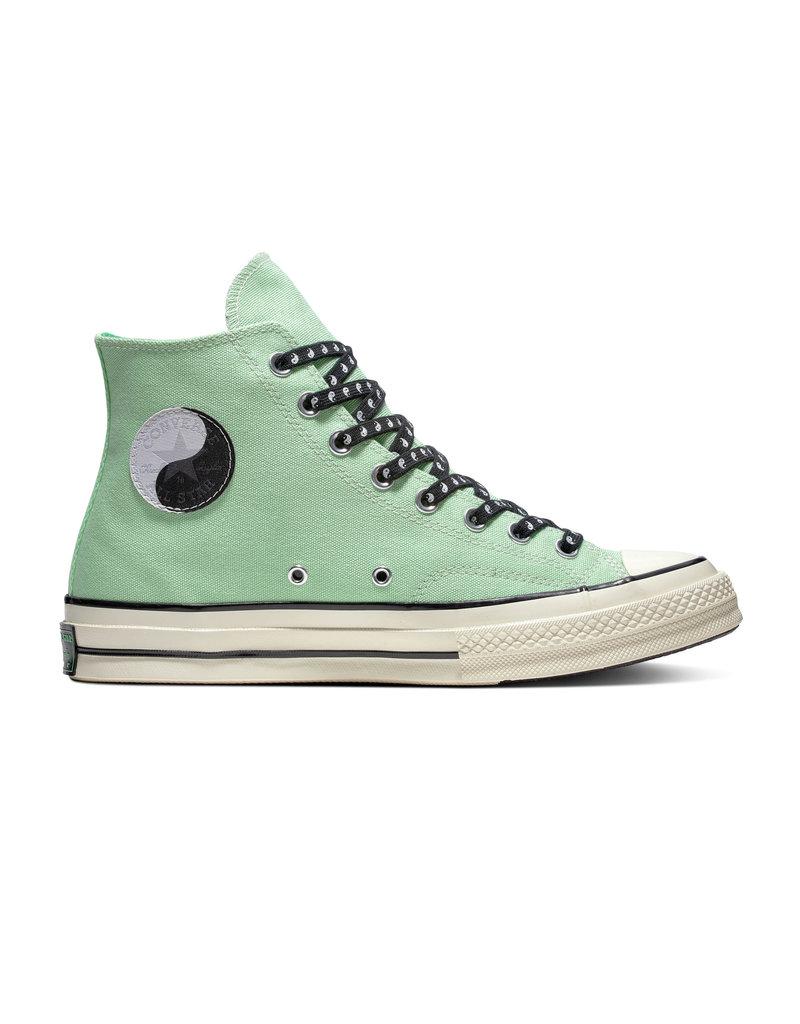 CONVERSE CHUCK 70 HI APHID GREEN/BLACK/EGRET C970AG-164210C