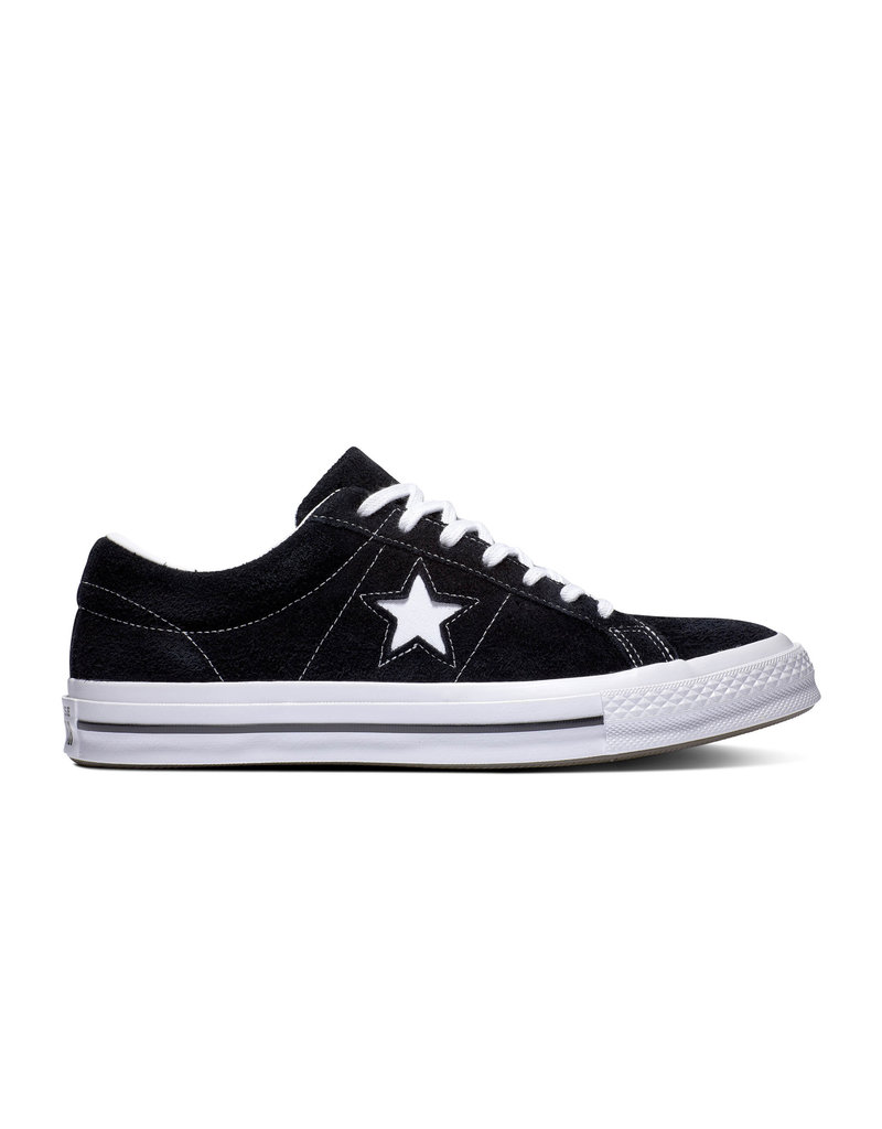 CONVERSE ONE STAR OX BLACK/WHITE/WHITE CS987B-158369C