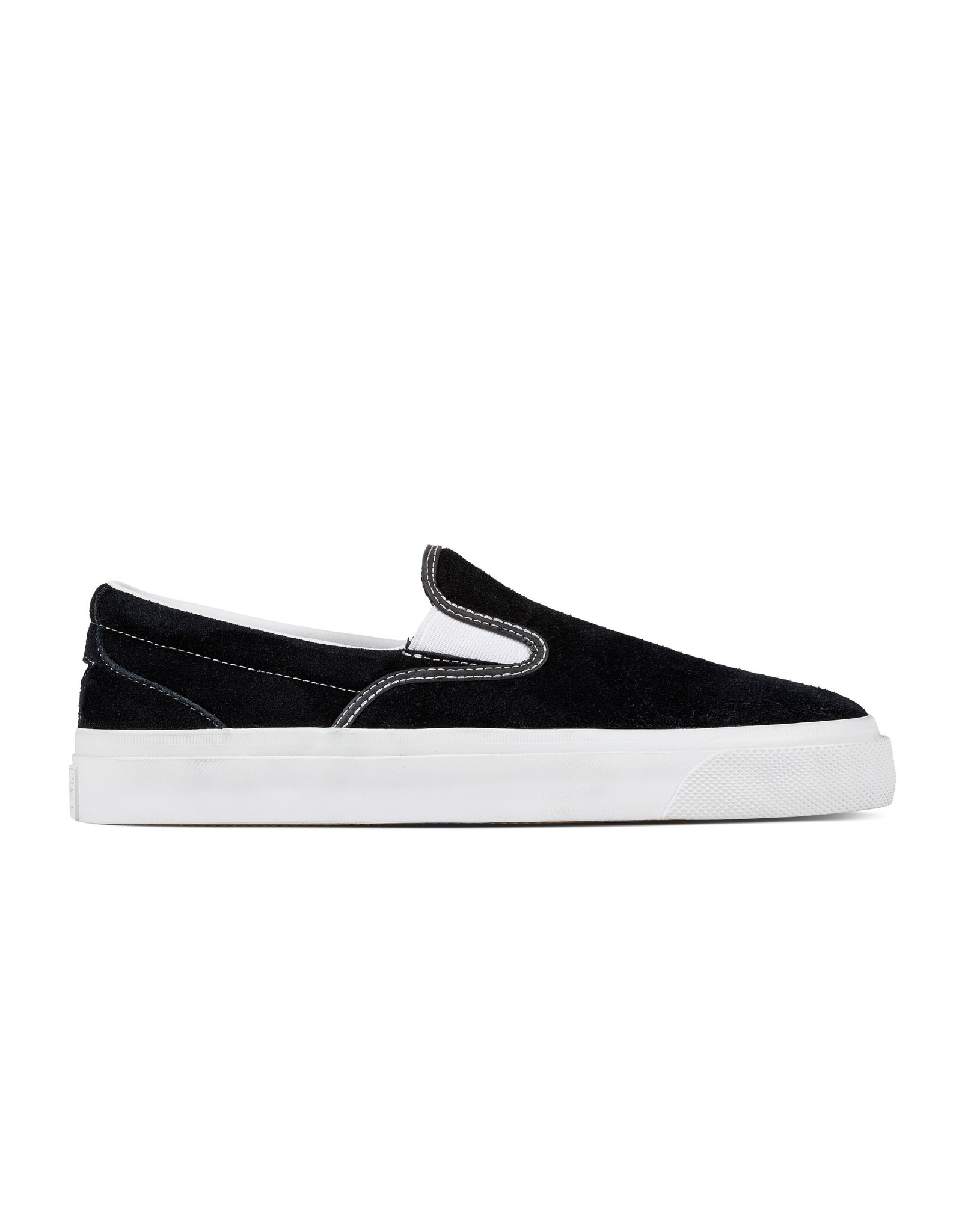 CONVERSE ONE STAR CC SLIP SUEDE PRO BLACK/WHITE/WHITE CS987SPB-160545C