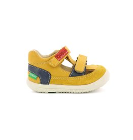 KICKERS KID JAUNE KS72JM 19E692390-10+7