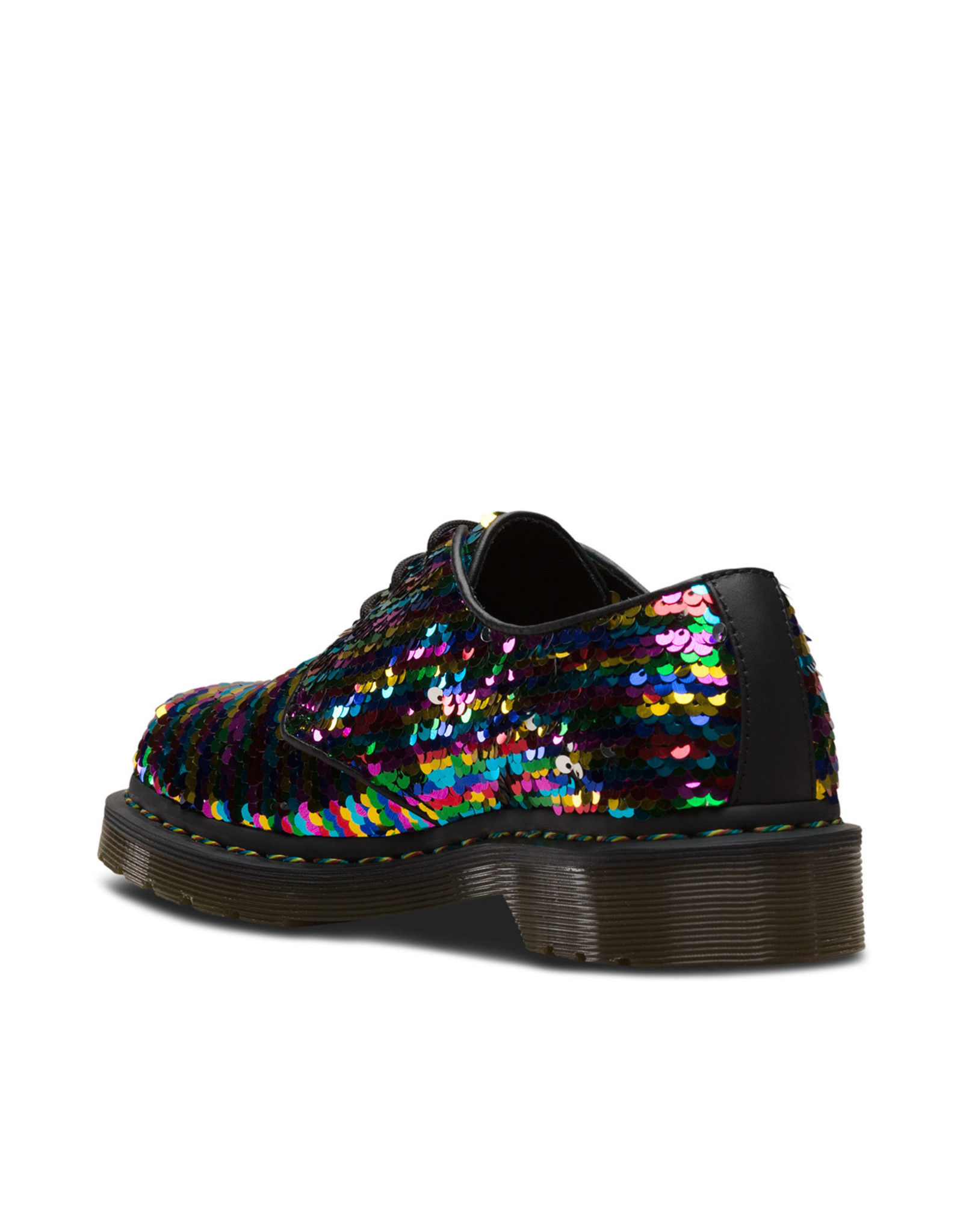 DR. MARTENS 1461 SEQUIN RAINBOW MULTI/SILVER 301SQR-R24597980