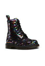 DR. MARTENS 1460 PASCAL SEQUIN RAINBOW MULTI/SILVER 815SQR-R24594980