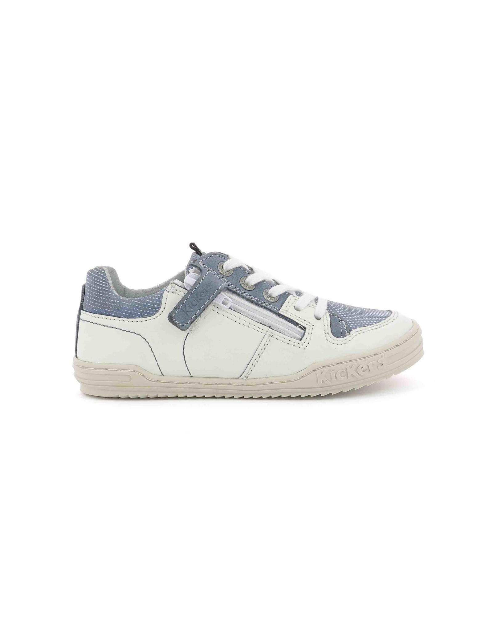 KICKERS JADORE WHITE BLUE K1973WB 19E545532-30