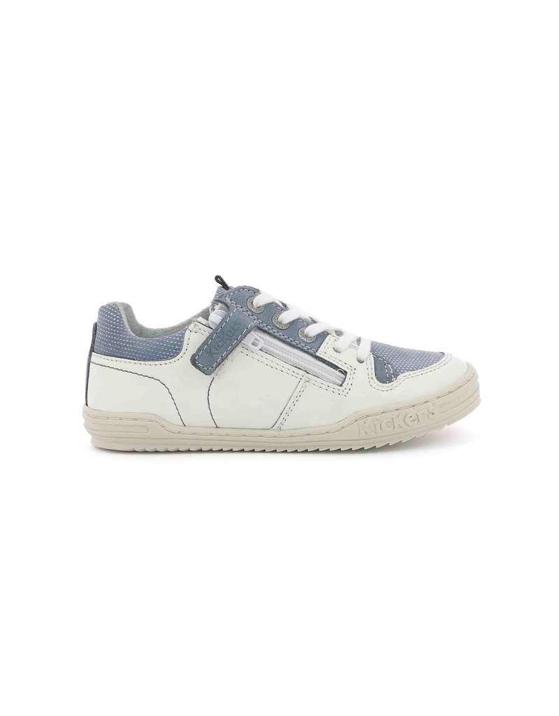 KICKERS JADORE WHITE BLUE K1973WB 19E545532-30+33