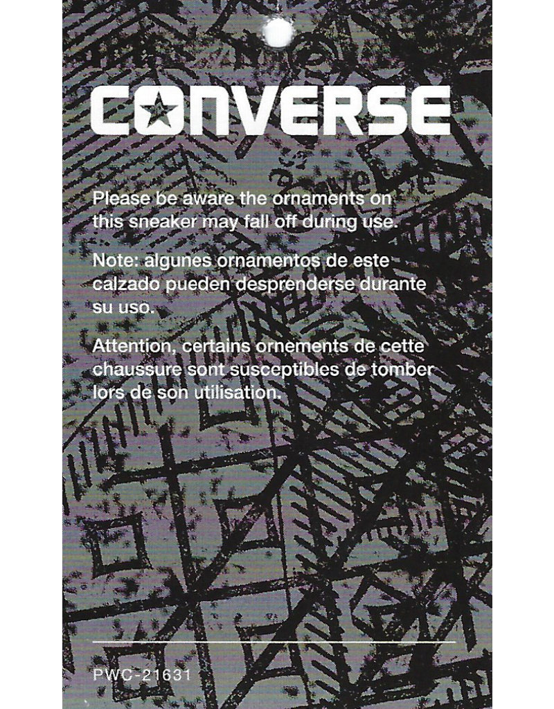 CONVERSE CHUCK TAYLOR OX METALLIC GLACIER/WHITE/BLACK C10MET-154038C