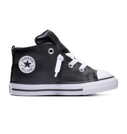 CONVERSE CHUCK TAYLOR ALL STAR STREET MID BLACK/BLACK/WHITE CCKSBW-763836C
