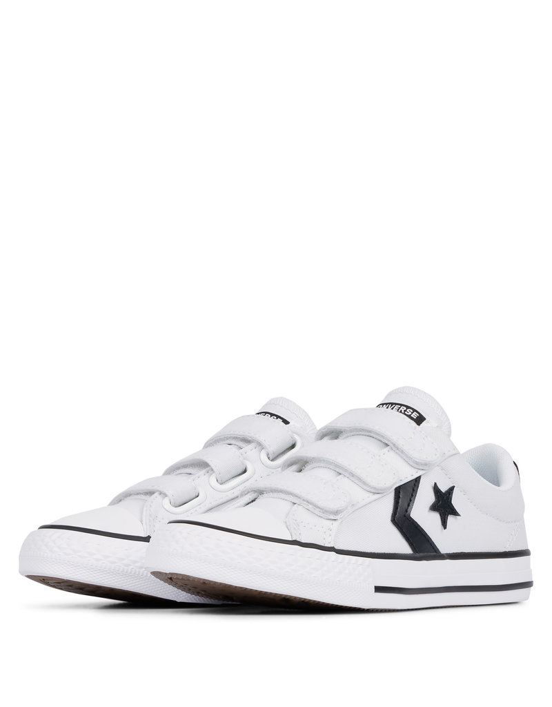 CONVERSE STAR PLAYER 3V OX WHITE/BLACK/WHITE CZ86VB-663599C