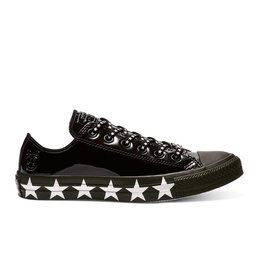 CONVERSE CHUCK TAYLOR AS OX MILEY CYRUS LEATHER BLACK/WHITE/BLACK CC13MCB-563720C