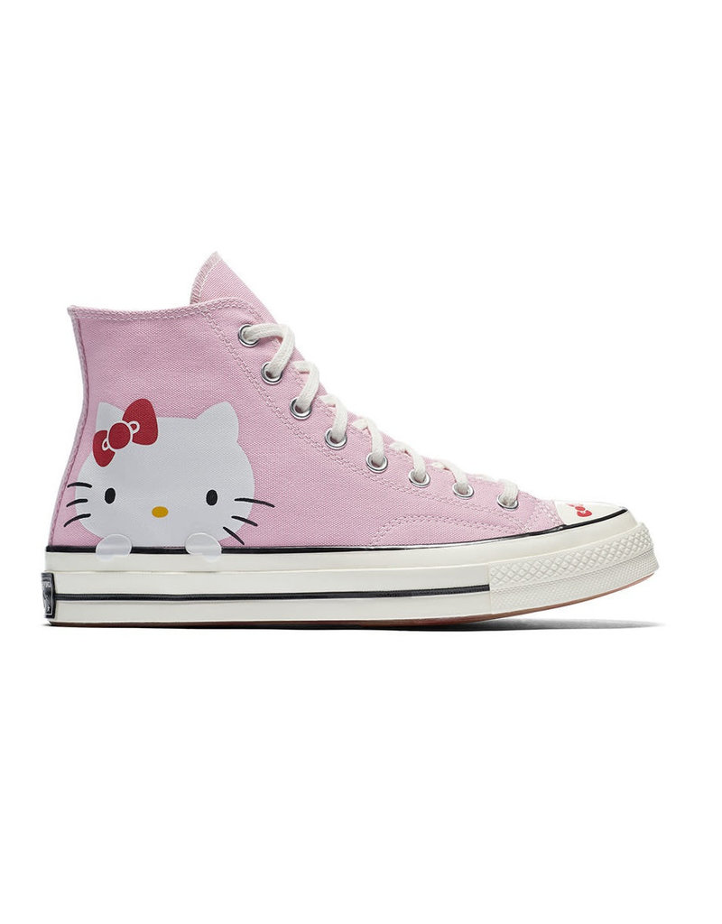 timeless design dbd60 3aad5 CONVERSE CHUCK TAYLOR 70 HI PINK PRISM/EGRET/WHITE HELLO KITTY  C870HK-162936C
