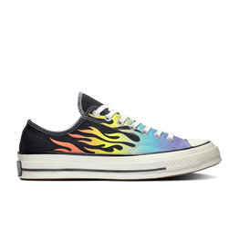 CONVERSE CHUCK TAYLOR 70 OX BLACK/TURF ORANGE/EGRET C970TJ-164407C