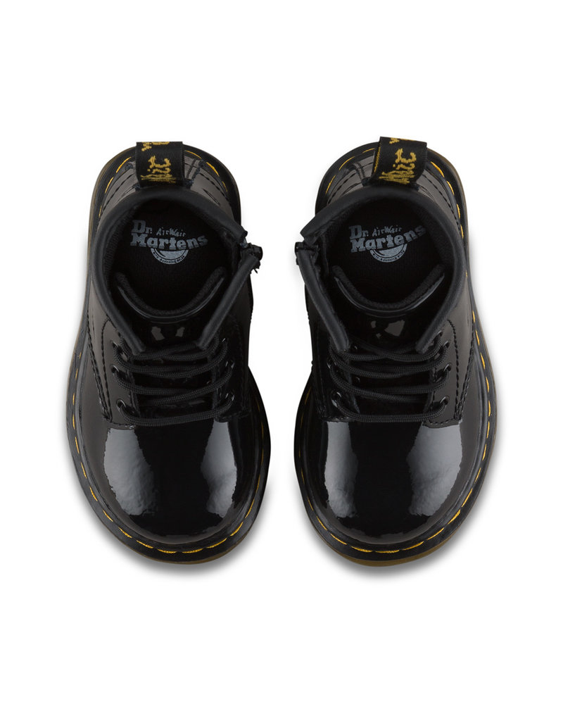DR. MARTENS BROOKLEE B  BLACK PATENT INFANTS Y400PB-R15933002