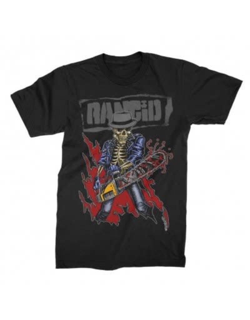 "Rancid ""Chainsaw Skele-Tim"" T-Shirt"