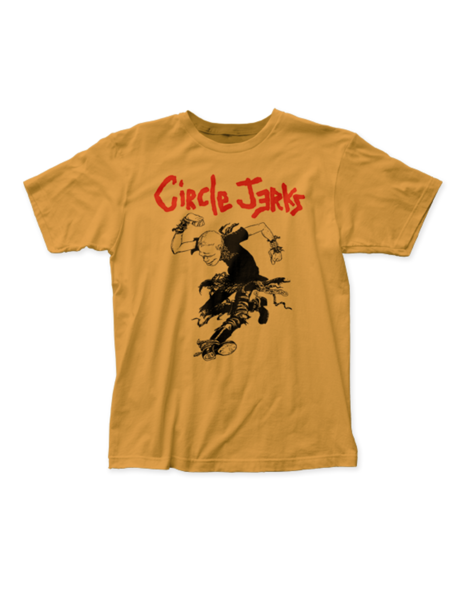 "Circle Jerks ""Skank Man"" T-Shirt (Yellow)"