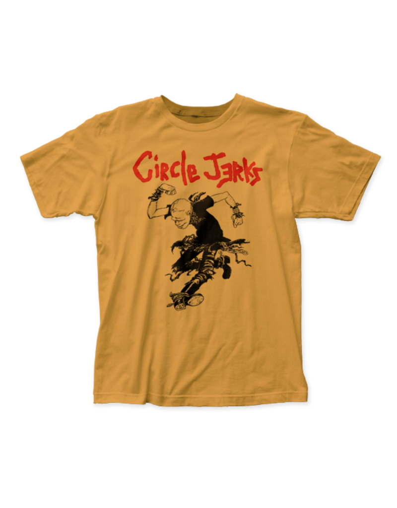 "Circle Jerks ""Skank Man"" T-Shirt (Yellow)"