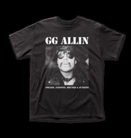 """GG Allin """"Freaks..."""" T-Shirt"""