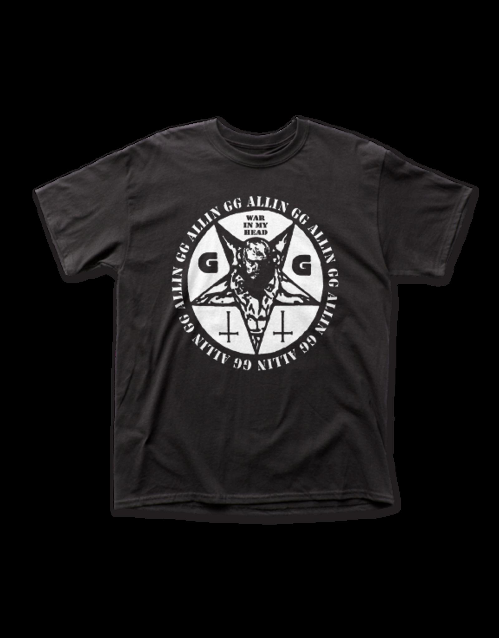 """GG Allin """"War In My Head"""" T-Shirt"""
