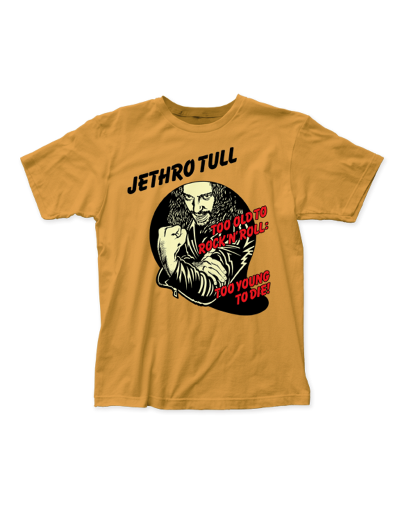"Jethro Tull ""Too Young to Die"" T-shirt"