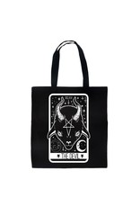 TOO FAST - The Witch & Devil Tarot Card 2 Sided Tote Bag