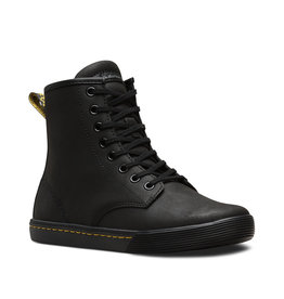 DR. MARTENS SHERIDAN BLACK MOHAWK NON WOVEN SYNTHETIC 826BB-R24161001