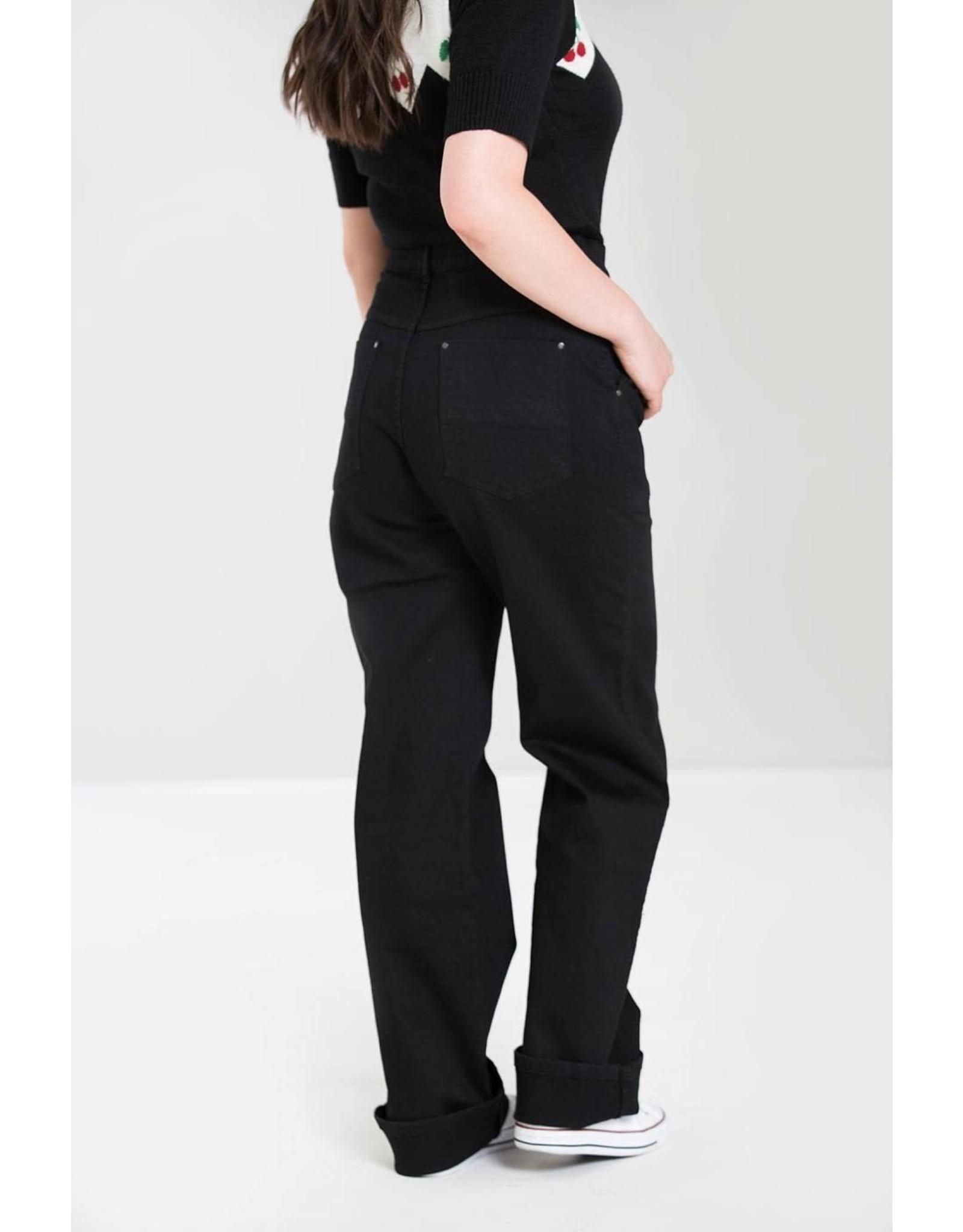 HELL BUNNY - Weston Denim Jeans