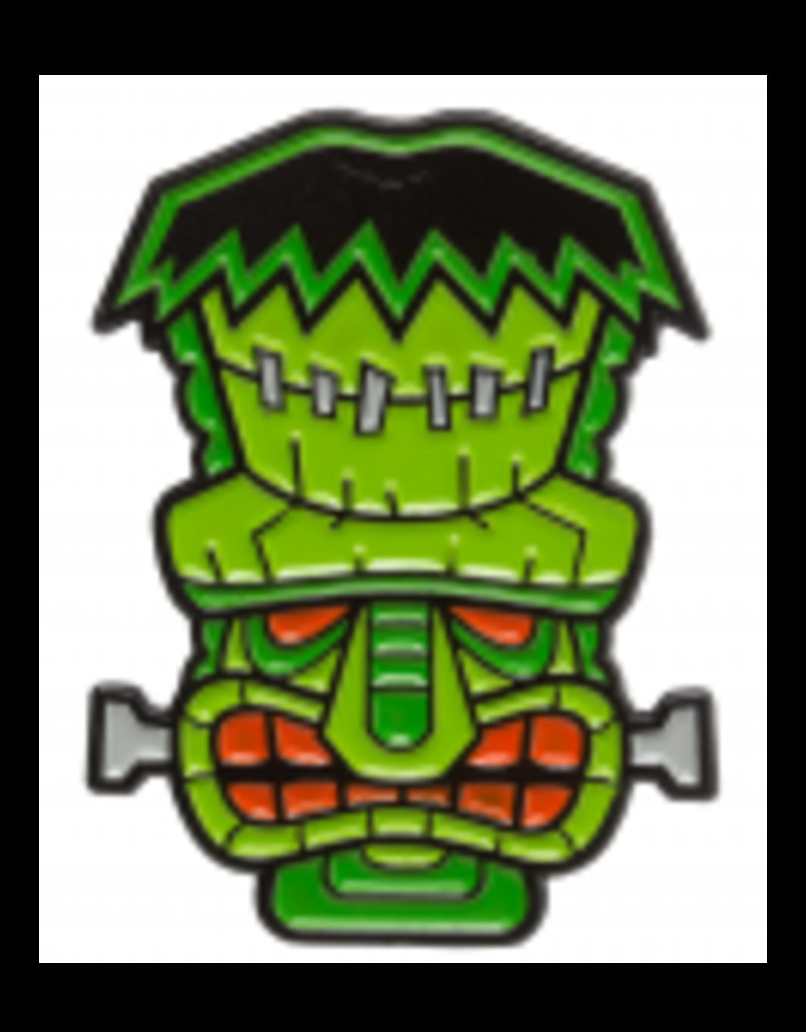 SOURPUSS - Tiki Monster Pin