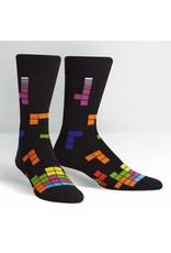SOCK IT TO ME - Men's Tetris Action Shot Crew Socks