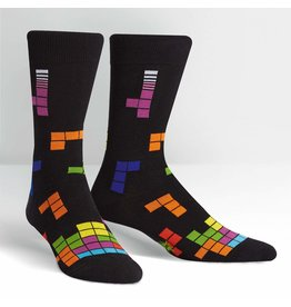 SOCK IT TO ME - Men's Tetris Action Shot Crew Socks