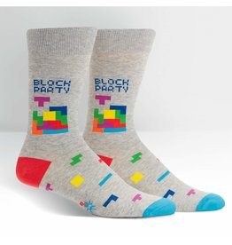 SOCK IT TO ME - Men's Tetris Block Party Crew Socks