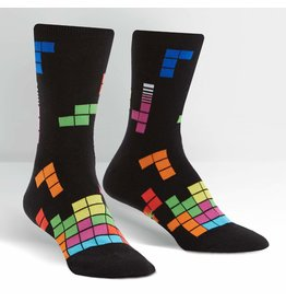 SOCK IT TO ME - Women's Tetris Action Shot Crew Socks