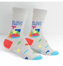 SOCK IT TO ME - Women's Tetris Block Party Crew Socks