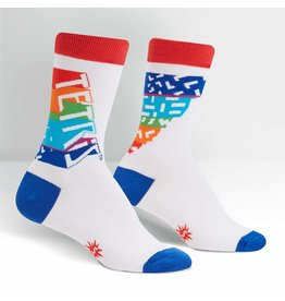 SOCK IT TO ME - Women's Tetris Retro Logo Crew Socks