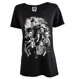 DARKSIDE - Adams Family Womens T Shirt