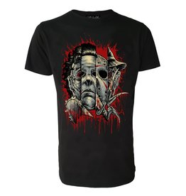 DARKSIDE - Faces Of Horror Mens T-Shirt