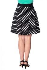 BANNED - Polka Dot 50's Skirt