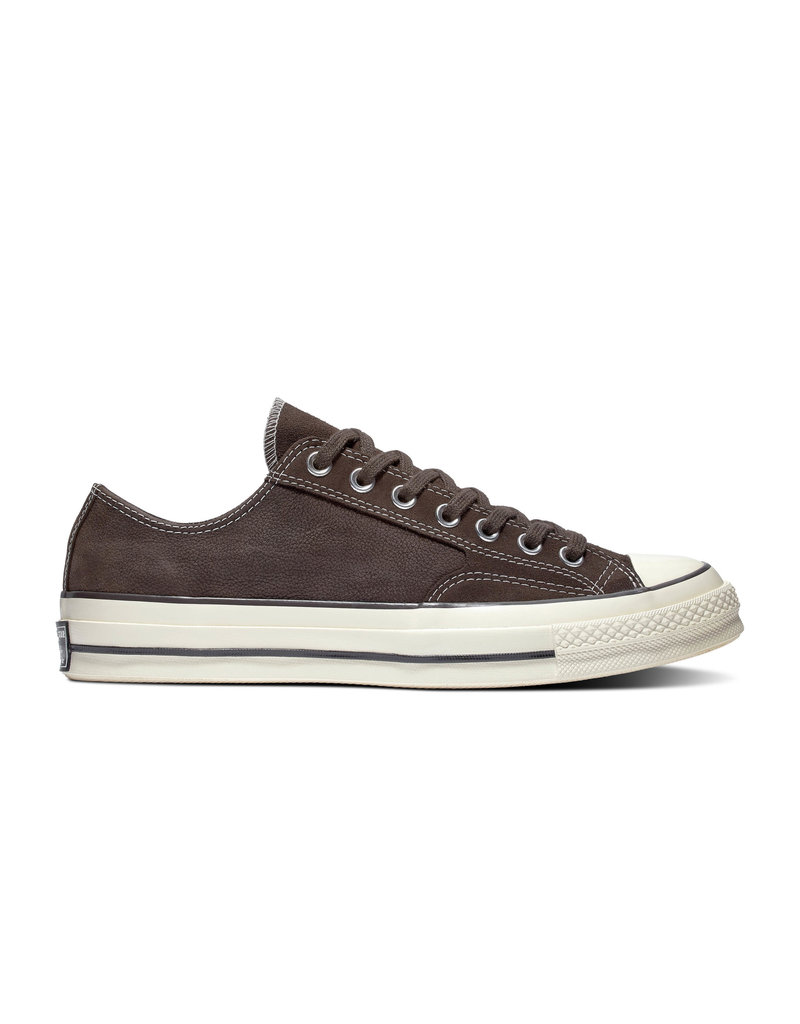 CONVERSE CHUCK 70 OX VELVET LEATHER BROWN/EGRET/BLACK CC970VEL-164942C